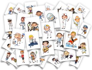 Flashcards de diferentescategorías