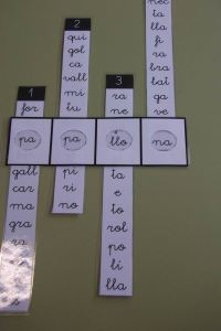 Formar palabras